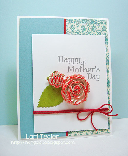Happy Mother's Day card-designed by Lori Tecler/Inking Aloud-stamps from Verve Stamps