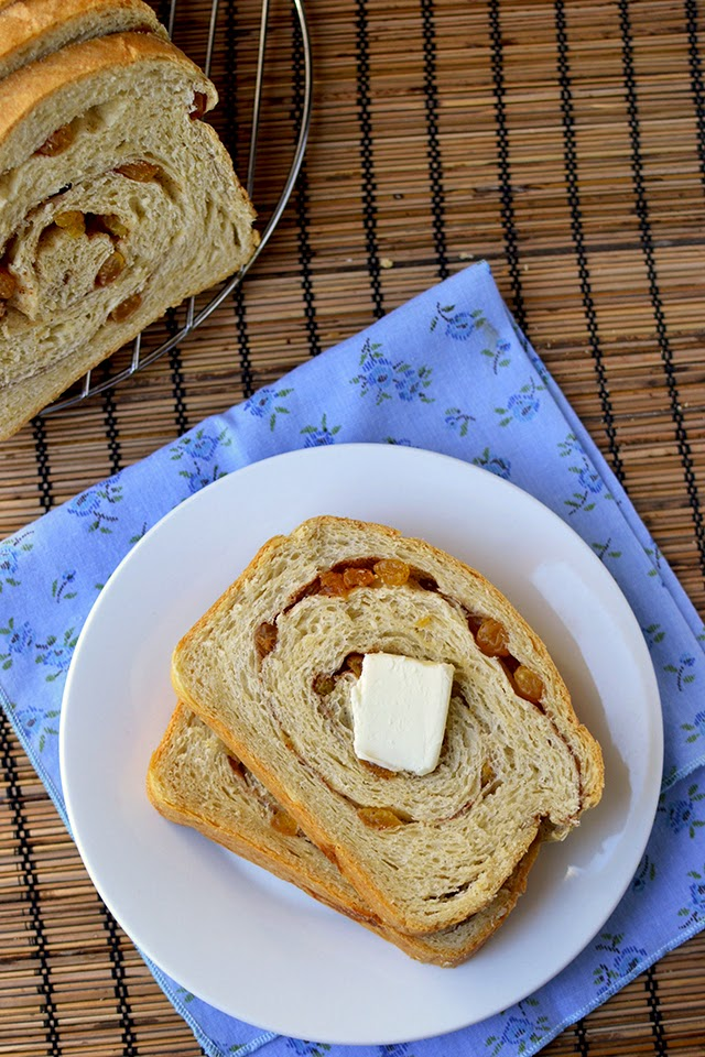 Sourdough Cinnamon Raisin Bread