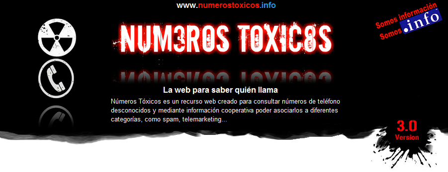 Números Tóxicos | Web para saber quién llama