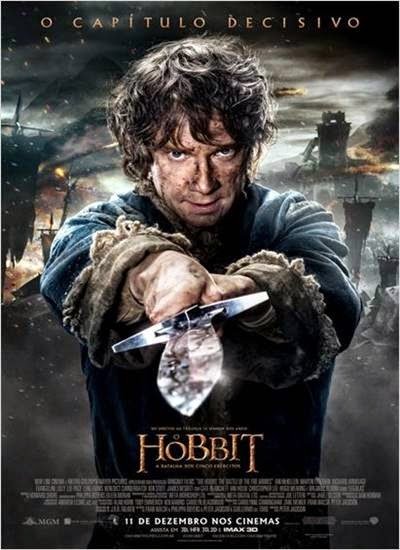 Download O Hobbit A Batalha dos Cinco Exercitos AVI + RMVB Dublado Torrent