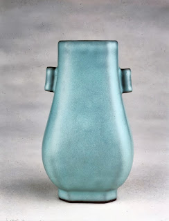 Guan type Glazed vase