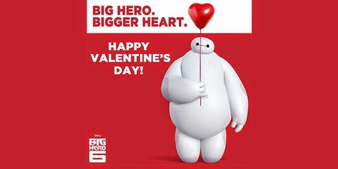 Happy Valentine's Day Make You From 'BIG HERO 6'