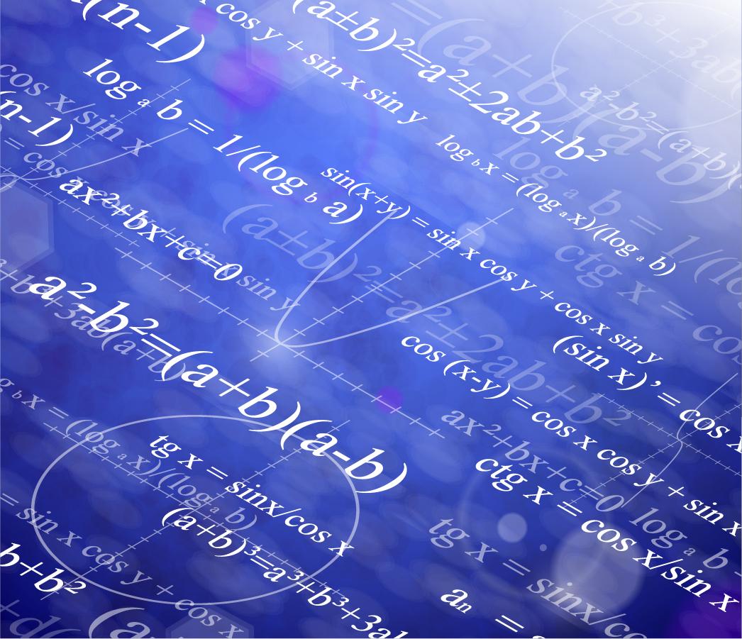 free vector がらくた素材庫: 科学的な数式の背景 scientific formulas