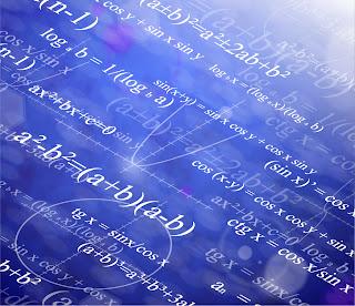 科学的な数式の背景 Scientific formulas backgrounds イラスト素材2