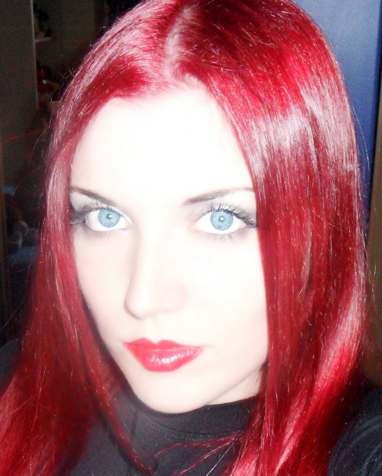 pelo rojo magenta revlon nutri color creme