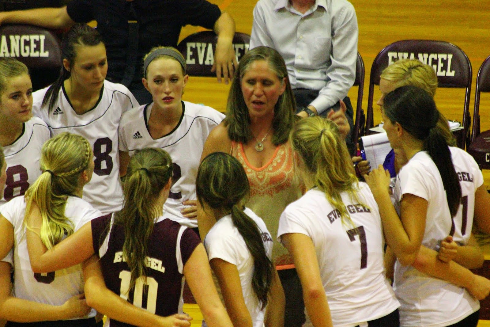 Volleyball Coach Mary Whitehead