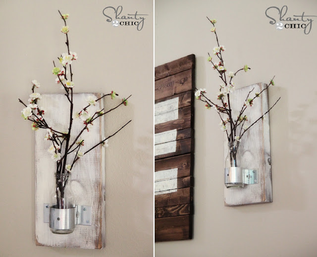 DIY Vase on the Wall