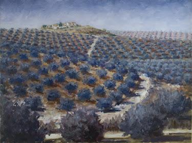 Cadenas desde la pasada del arroyo Salado; Torredelcampo, Jaén (12P)