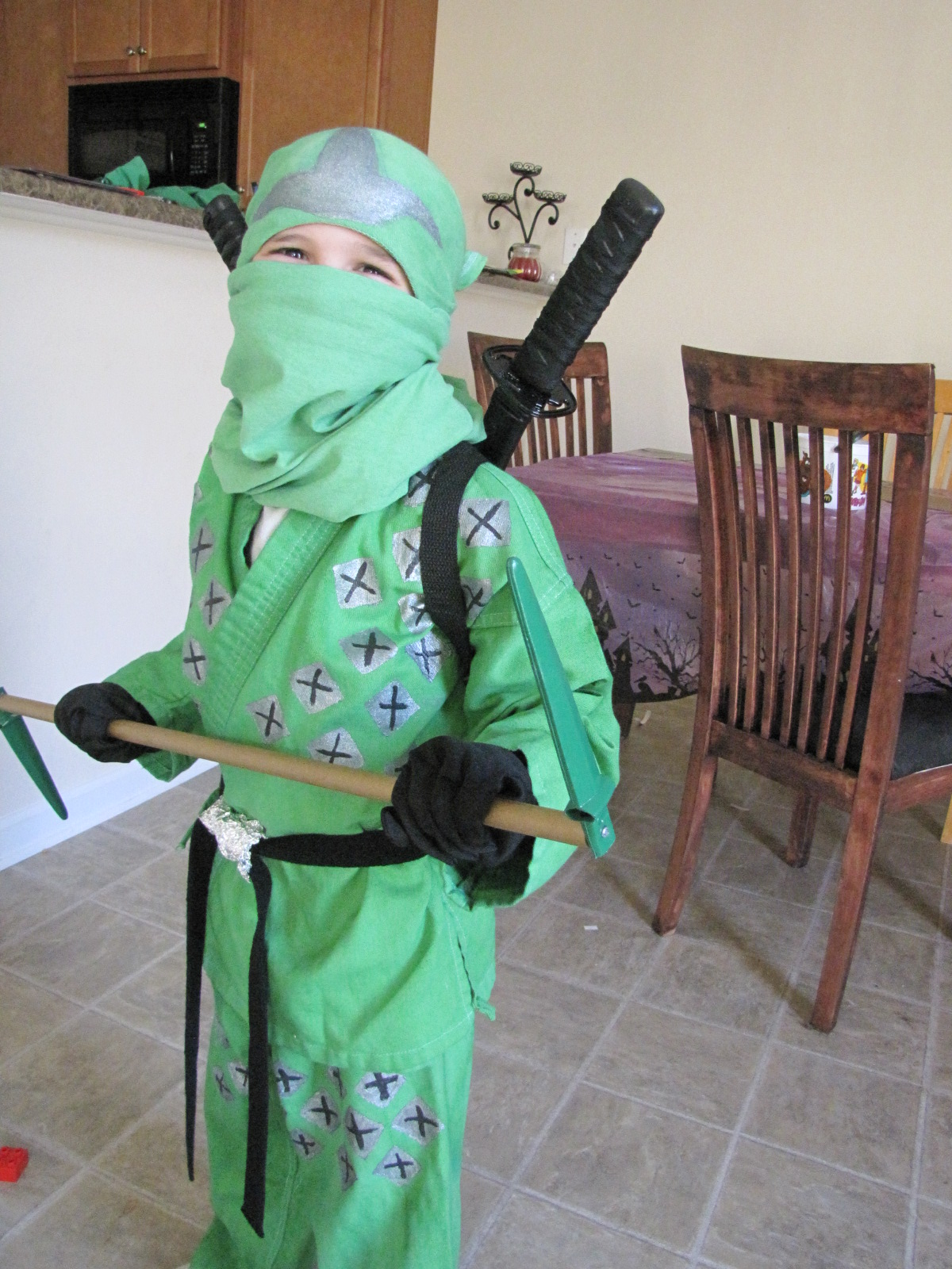 Roberts Family Adventures How To Make A Ninjago Green