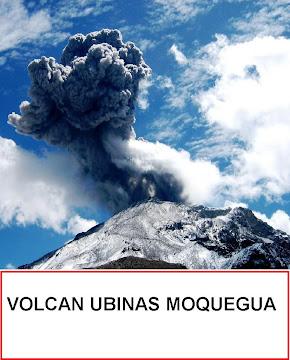 VOLCAN UBINAS MOQUEGUA