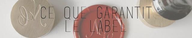 ce que garantit le label garanties charte cosmébio