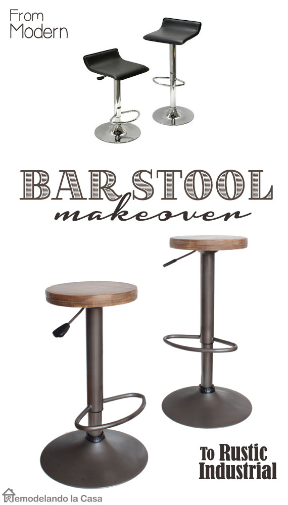 How to give new life to old bar stools