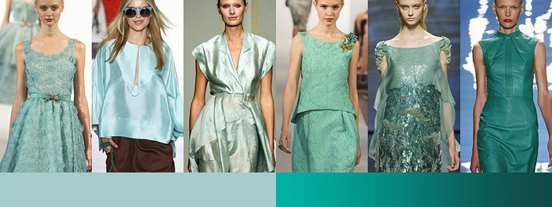 Spring Fashion Trends - Green
