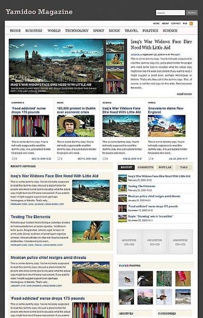Download Yamidoo WordPress theme