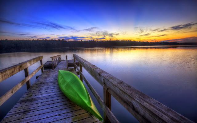 Canoe Boat Wallpaper