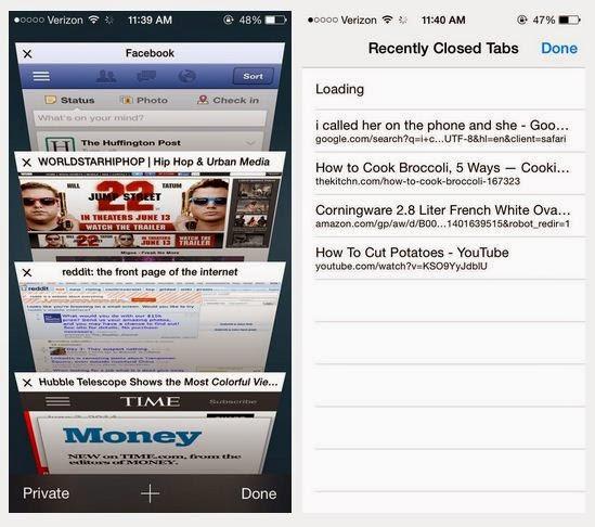 5 tính năng ẩn trong Safari trên iOS 8 mà nhiều người không biết