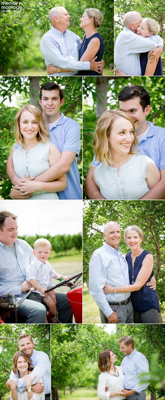 Yakima family photography, Yakima family photographyers, Yakima orchard session, memory montage photography
