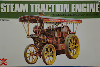 Bandai Steam Tractor - The box