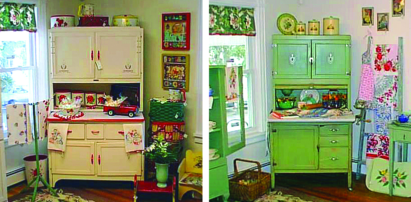 Etsy Vintage Team: Collecting Hoosier Cabinets