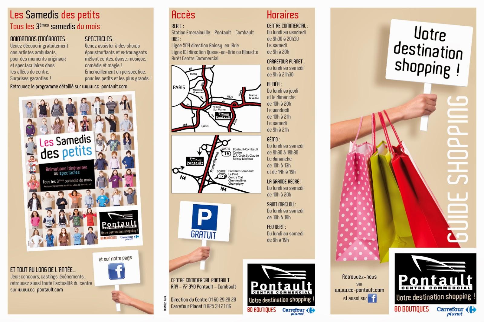 directeur artistique  pontault    centre commercial    guide