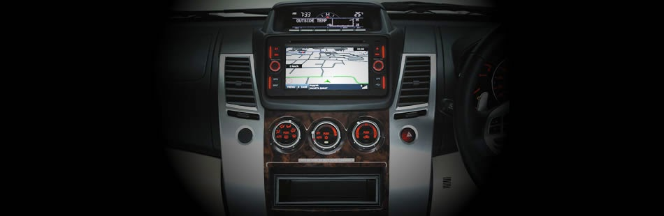 Head Unit New Pajero Sport V6