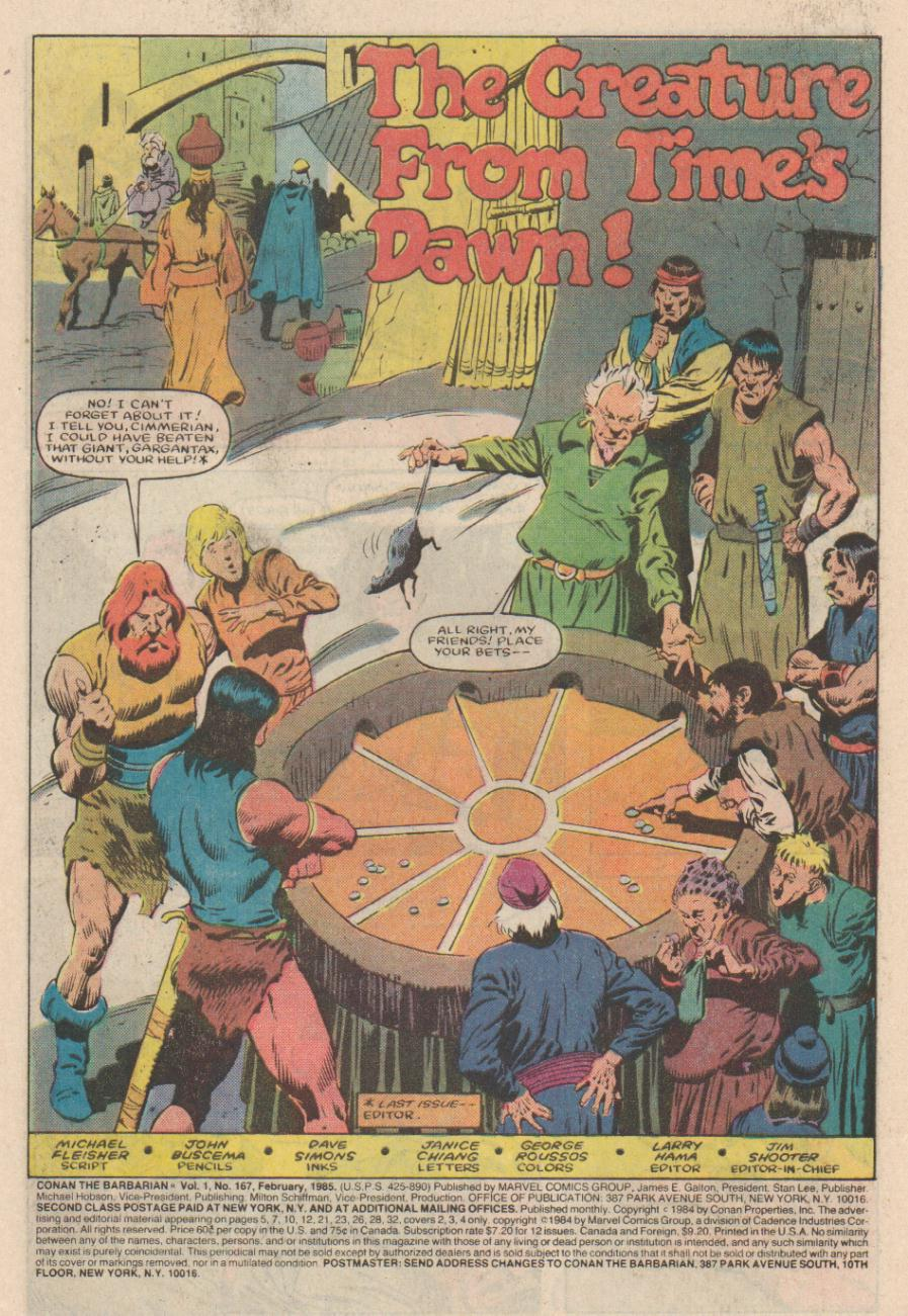 Conan the Barbarian (1970) Issue #167 #179 - English 2