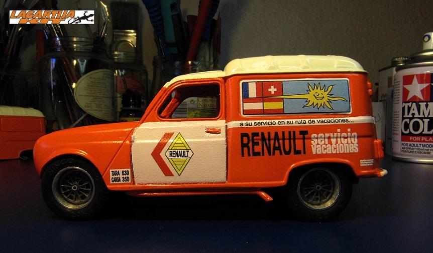 Renault 4F Servicio Vacaciones