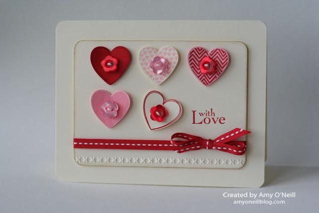 TARJETA FIVE LOVELY HEARTS