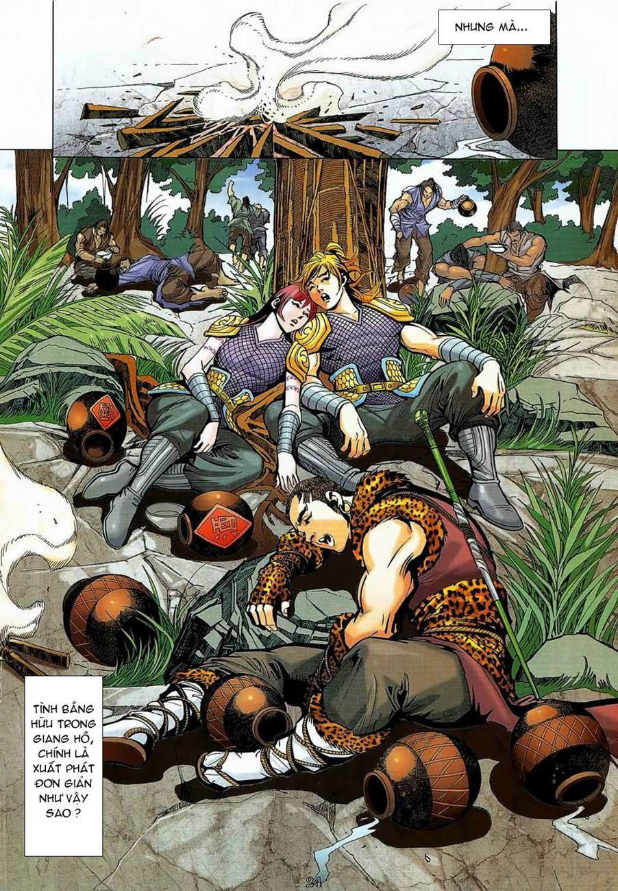Thần Chưởng Long Cửu Châu chap 8 - Trang 24