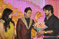 Celebraties at Actor Bharat n Jessy Wedding Reception Photos+%2528128%2529 Actor Bharath n Jessy Wedding Photos