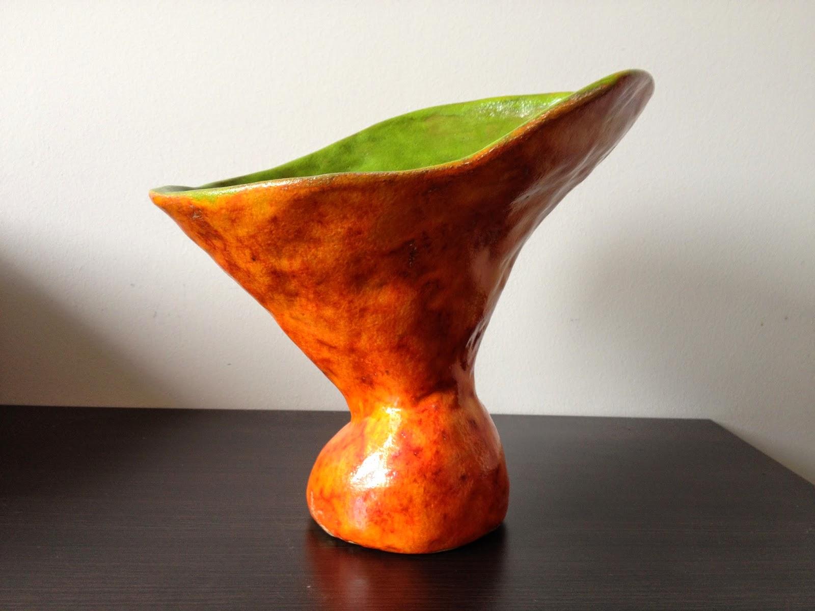 gliniany wazon handmade