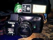 Canon reflex RX-168 tampak depan