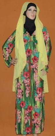 Grosir Baju Muslim Murah Tanah Abang Gamis Bunga Surabaya