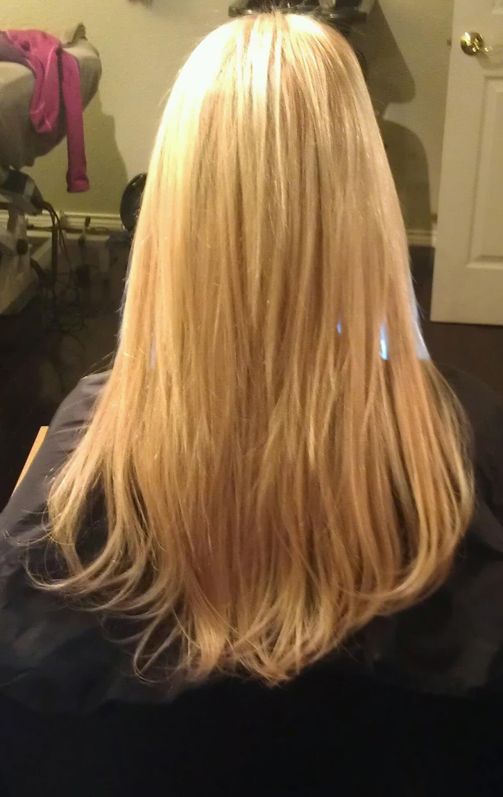 After application of Hot Heads Extensions ~ Back Profile