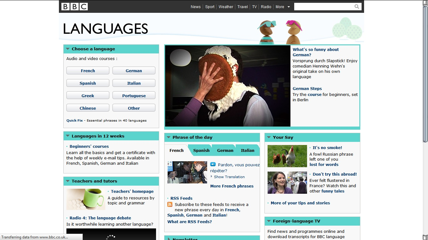 Virtual Ecstasy: Voice of geeks: Learn a new language online