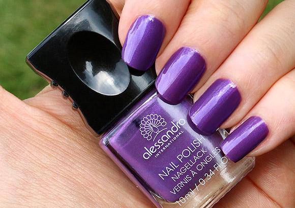 Alessandro Lucky Violet Nail Polish