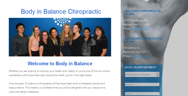 Leading chiropractic & natural therapy centre