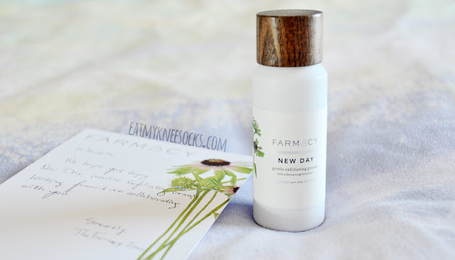 Overall, I'm satisfied with the Farmacy New Day exfoliating grains. A 3.5oz bottle lasts pretty long, depending on how much you use. This product is perfect for cleansing skin, removing oils, and making skin feel soft, smooth, and replenished, though it's certainly not the strongest exfoliator out there.