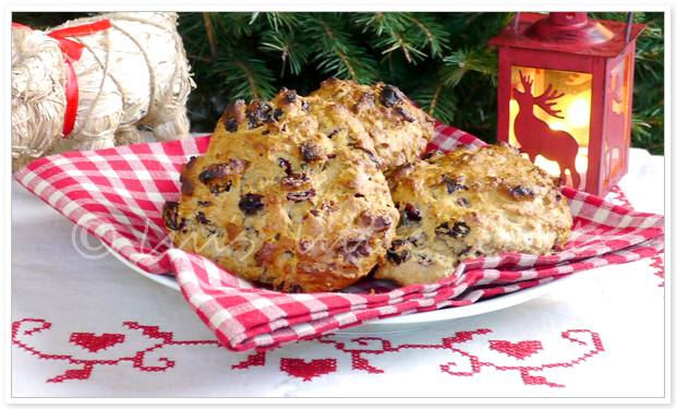 Christmas scones, December, christmas, jul, recept, recipes, julscones