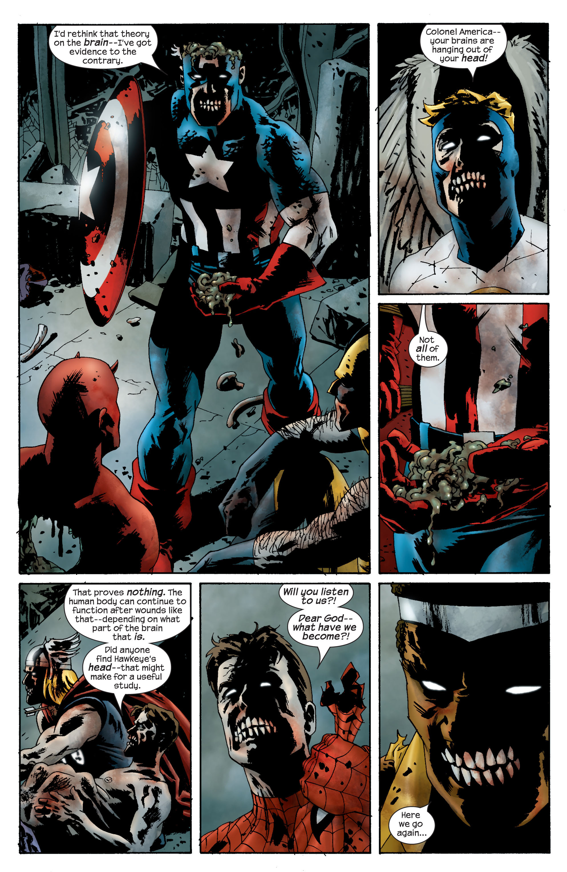 Marvel Zombies (2006) Issue #1 #1 - English 17