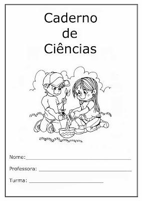caderno de ciências