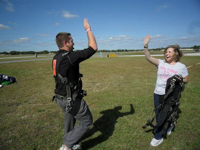 Bucket List = Skydiving