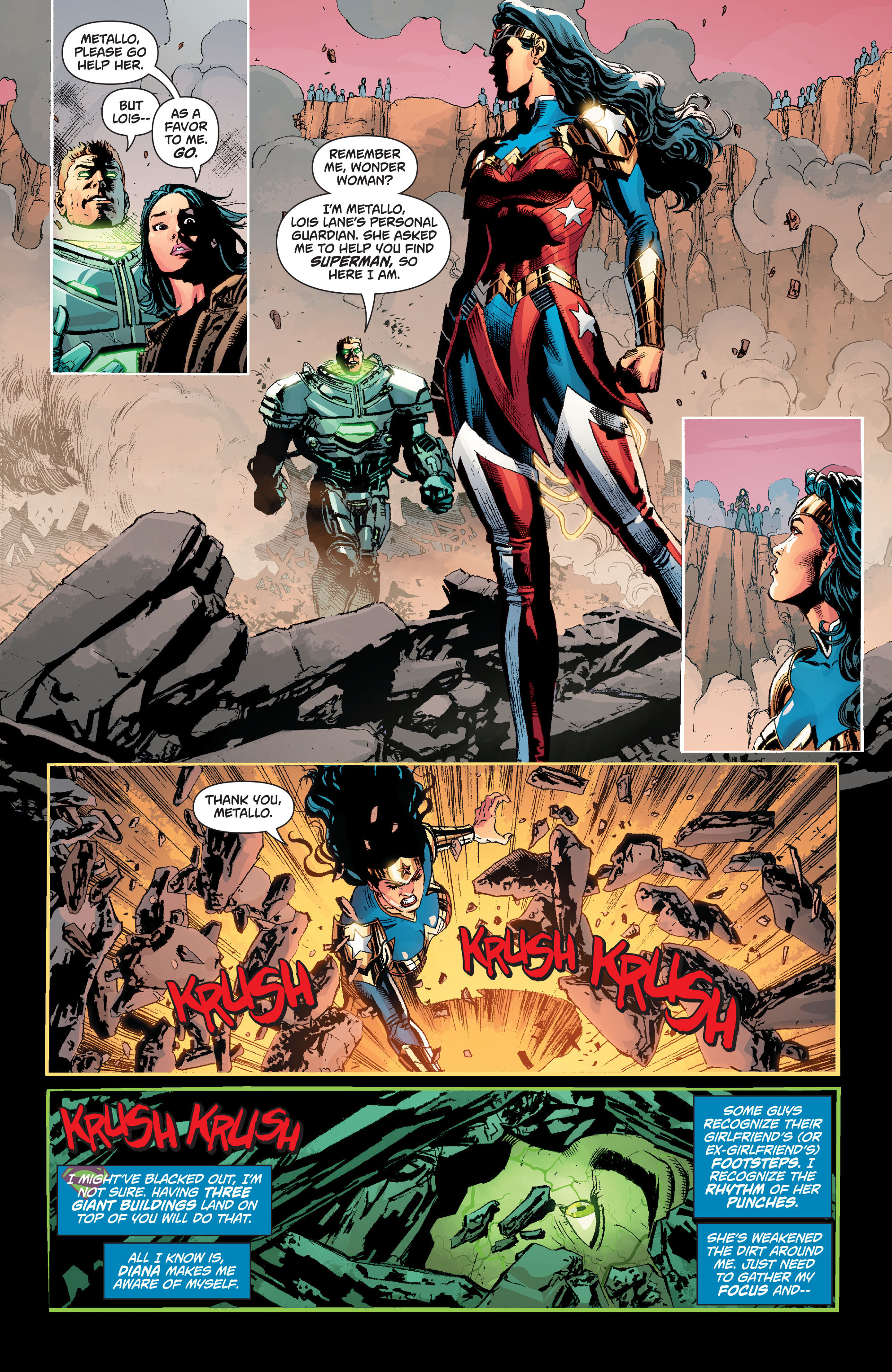 Read online Superman (2011) comic -  Issue #49 - 6