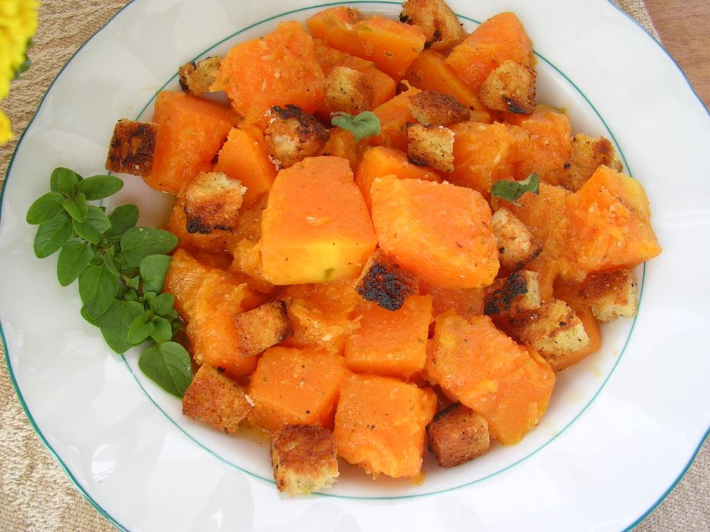 My kitchen in spain pumpkin season big time for Calabaza frita