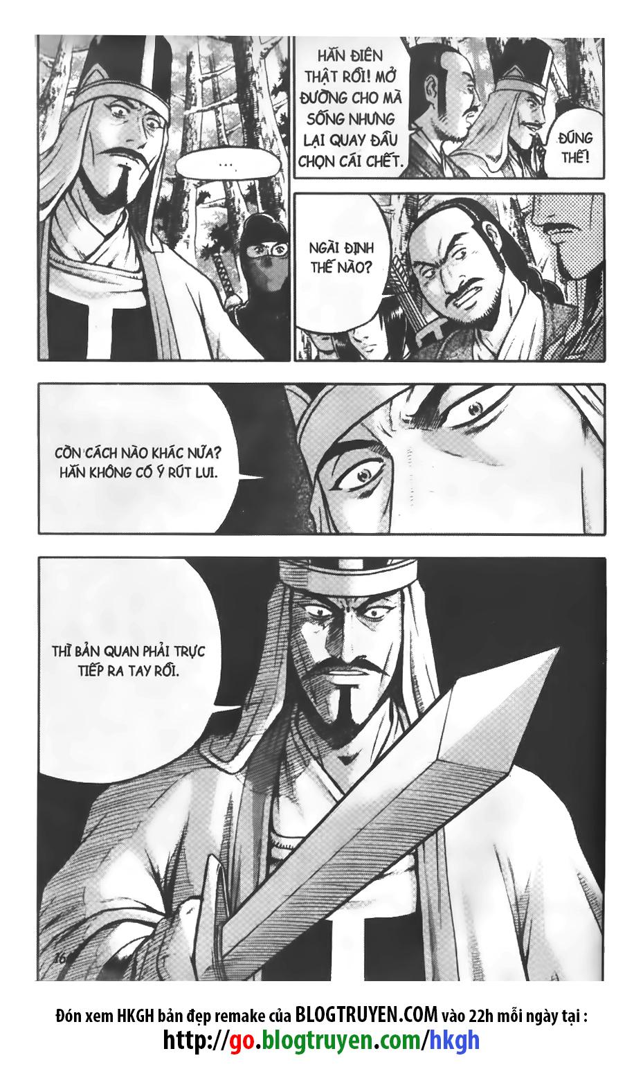 Hiệp Khách Giang Hồ chap 323 page 16 - IZTruyenTranh.com