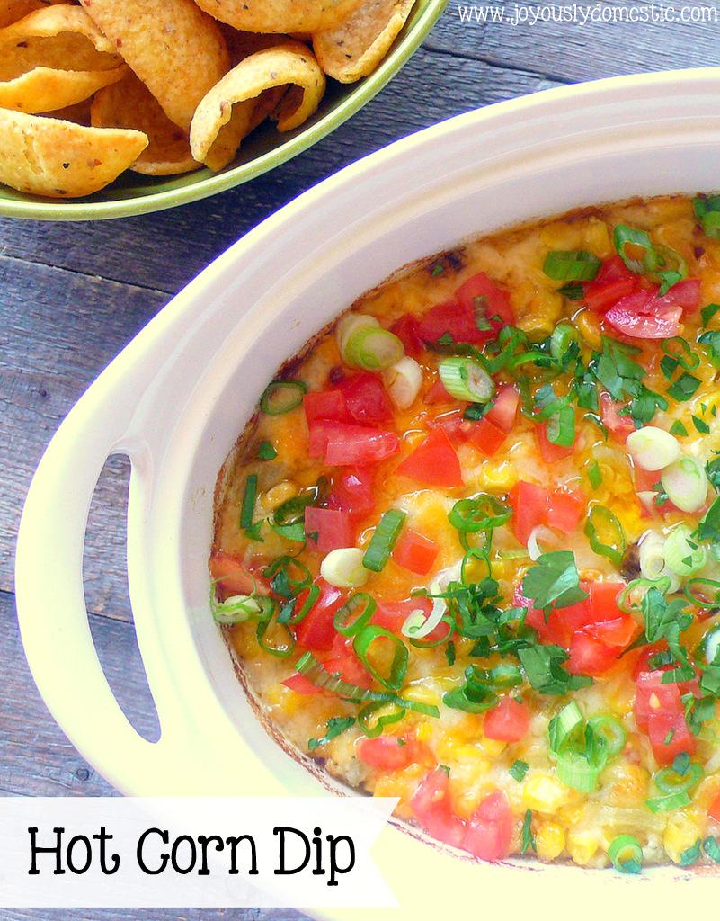 Joyously Domestic: Hot Corn Dip