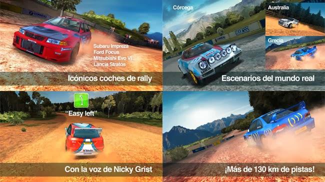Colin McRae Rally, el aclamado juego de rally llega a Android