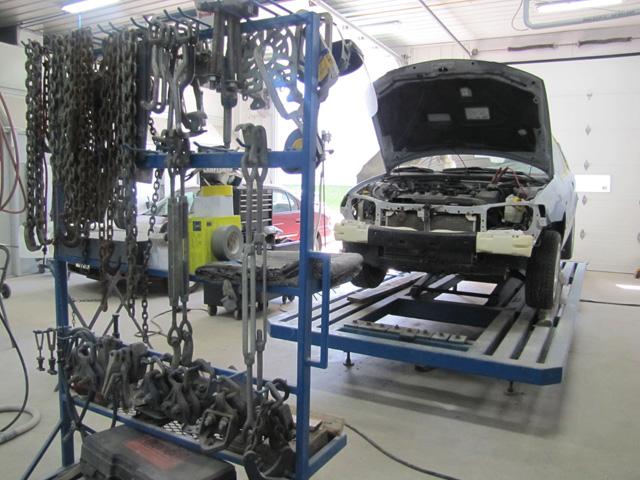 Service de réparation de carrosserie