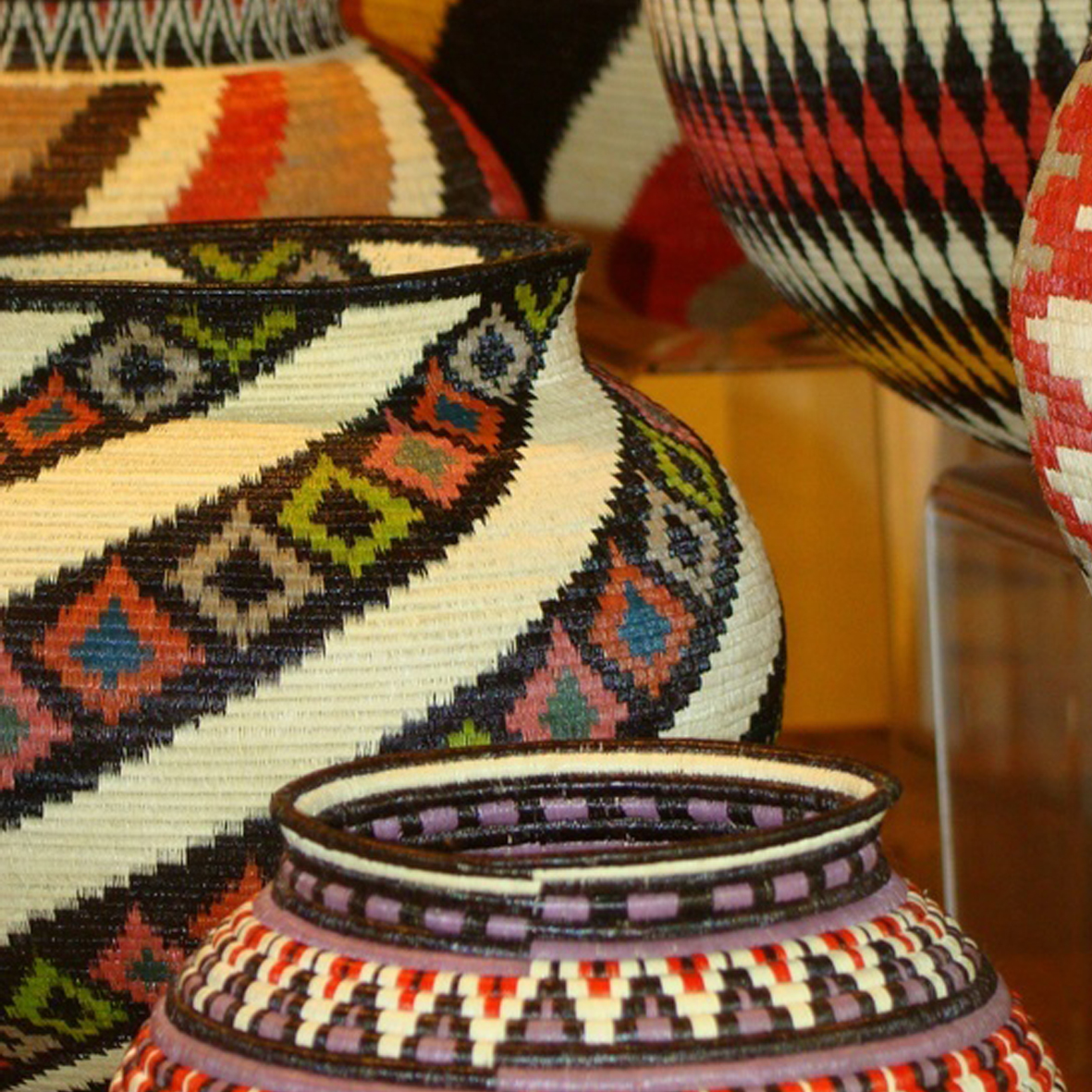 Basket Weaving Name : Iheartprintsandpatterns african basket weaving