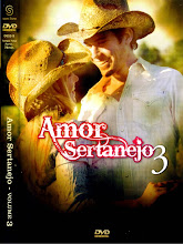 DVD - Amor Sertanejo Vol. 03 ( 2011 )